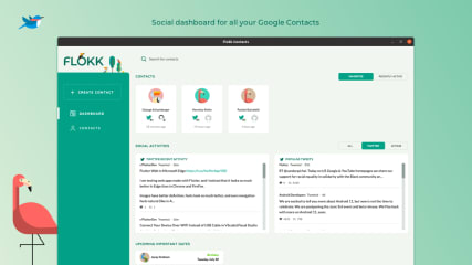 Flokk Contacts screenshot