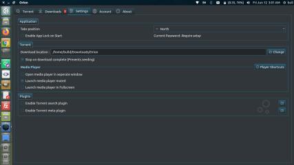 Orion - BitTorrent Client & Streamer screenshot