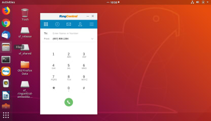 RingCentral Phone for Linux (Community) screenshot