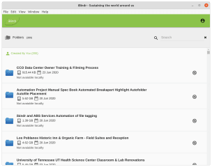 ibindr screenshot