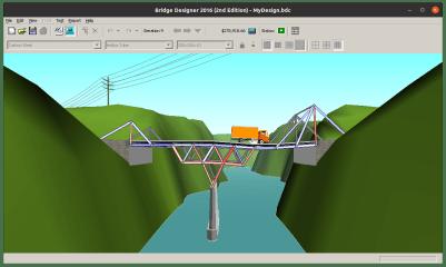 Bridge Designer 2016 screenshot