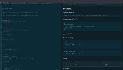 Aurora Editor screenshot