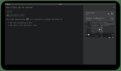 Clipto screenshot