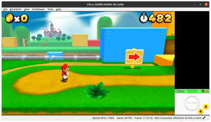 Citra screenshot