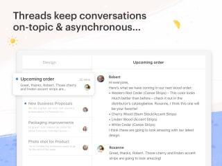 Twist · Team Communication screenshot