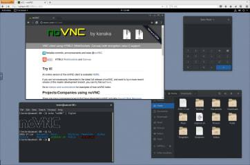 noVNC screenshot