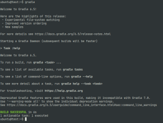 gradle screenshot