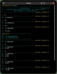 RPNCalc screenshot