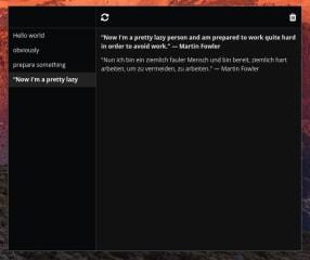 Oversetter screenshot