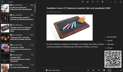 Fluent Reader screenshot