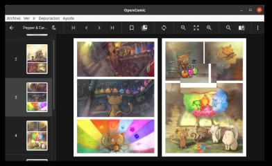OpenComic screenshot