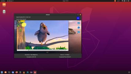 alfacast screen mirror screenshot