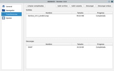 Iberbox screenshot
