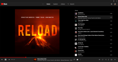 YouTube Music Desktop screenshot