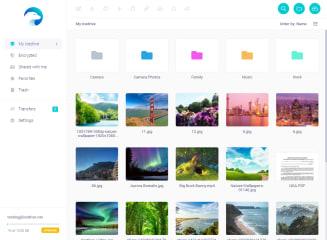 Icedrive screenshot