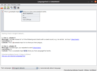 languagetool screenshot