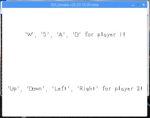 sdl2snake screenshot