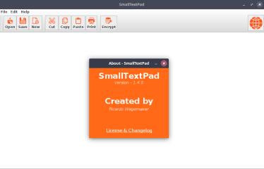 smalltextpad screenshot
