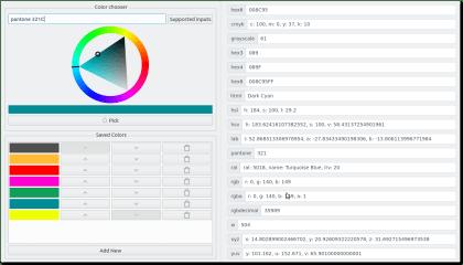 ColorPie screenshot