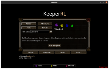 KeeperRL screenshot