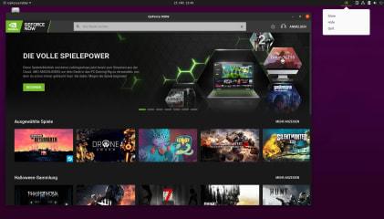 GeForce NOW Browser App screenshot