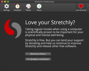 Stretchly screenshot