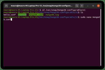 mongo36-configurable screenshot