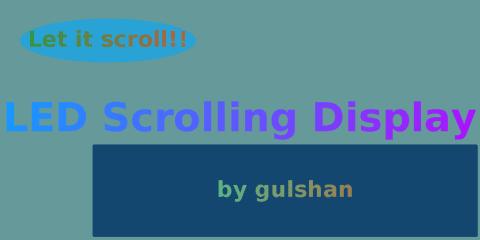 led-scrolling-display screenshot