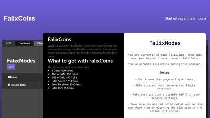 FalixNodes Software screenshot