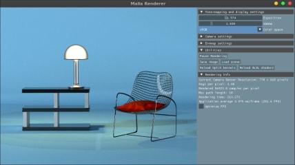 Malia Rendering Framework screenshot