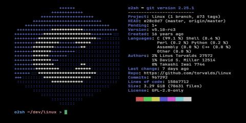 Onefetch screenshot