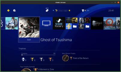 Chiaki screenshot