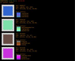 pastel screenshot