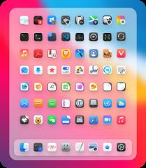 WhiteSur GTK theme. screenshot
