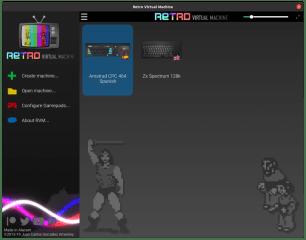 Retro Virtual Machine screenshot