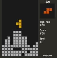SimTetris screenshot
