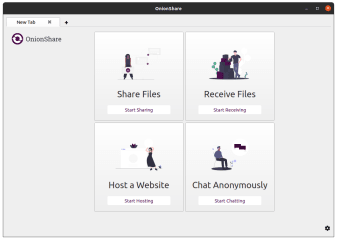 OnionShare screenshot