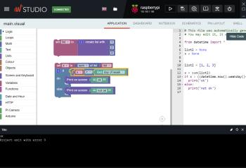 WyliodrinSTUDIO screenshot