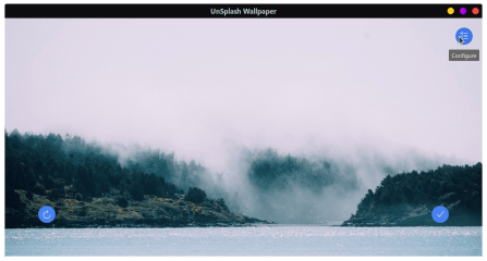Unsplash Wallpaper screenshot