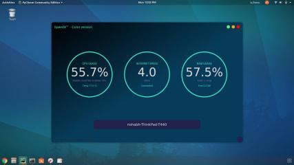 SPEEDX - monitor net speed screenshot