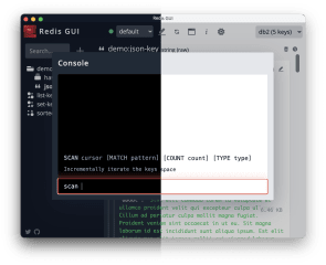 redis-gui-unofficial screenshot