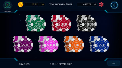 Blockchain Poker screenshot