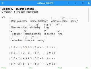 SessionCharts screenshot