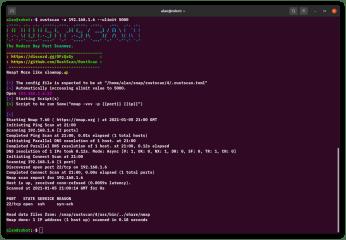 RustScan screenshot