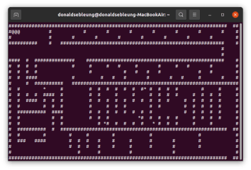 Classic Snake Terminal screenshot