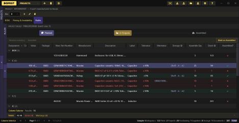BOMIST screenshot