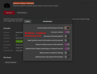 opencv-demo-webapp screenshot
