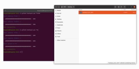 BackupZ2 screenshot