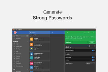 Enpass screenshot