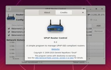 UPnP Router Control screenshot